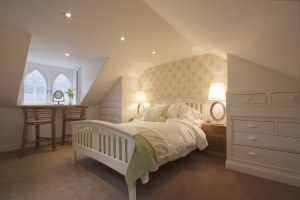 Lime Bedroom